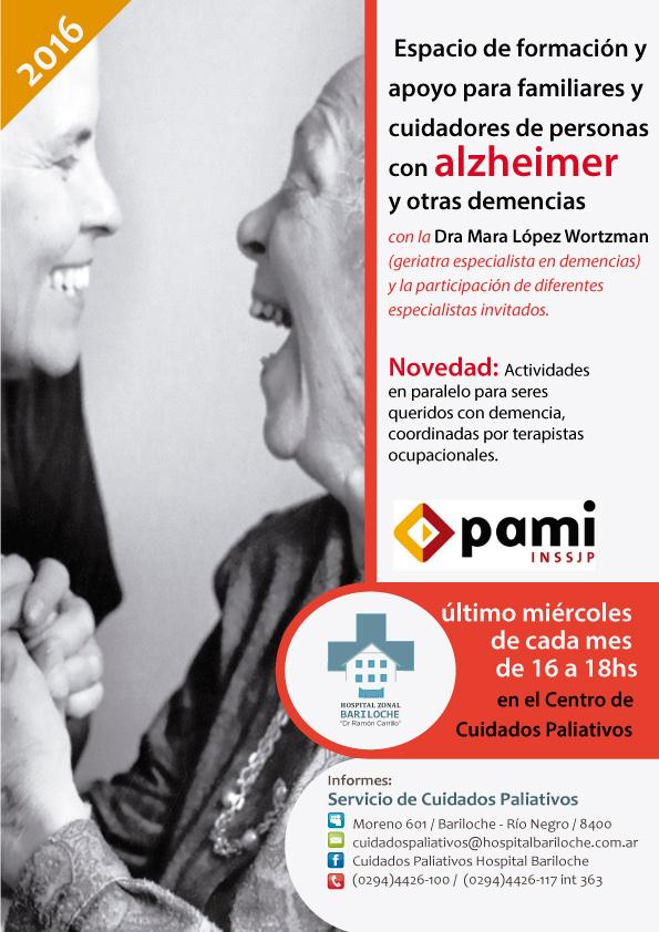 Espacio de formación – Alzheimer y otras demencias