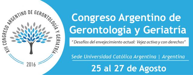 Congreso Argentino de Gerontología y Geriatría